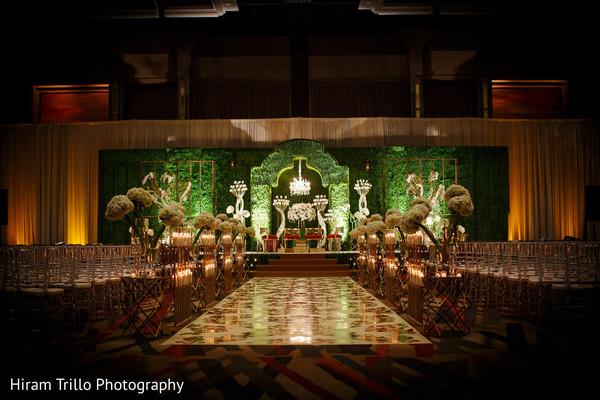 Beautiful indian wedding ceremony floral decor