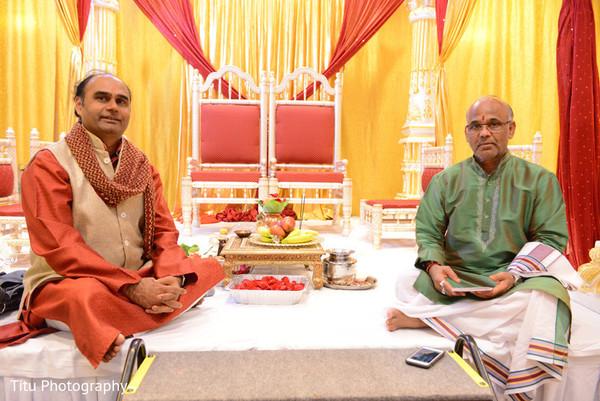 indian wedding ceremony,hindu priest,mandap