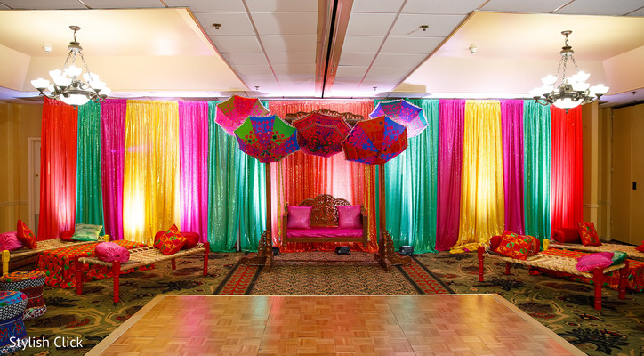 sangeet,pre- wedding celebrations,floral and decor