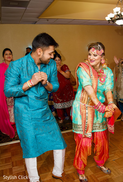 pre- wedding celebrations,dj,sangeet,choreography,indian bride and groom