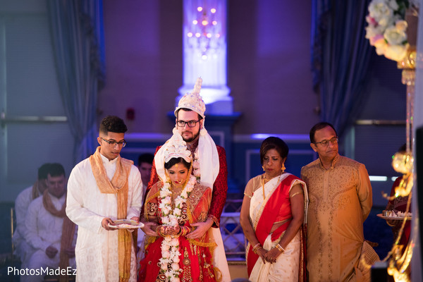 Anjali ceremony.
