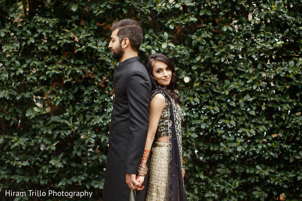 Classy Indian pre-wedding photo session.