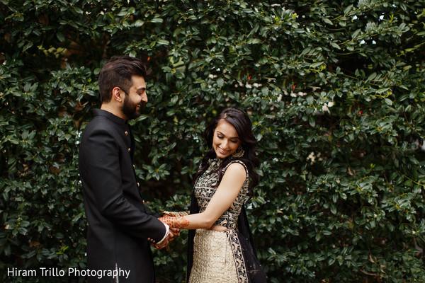 Heart melting Indian couple's pre-wedding photo.