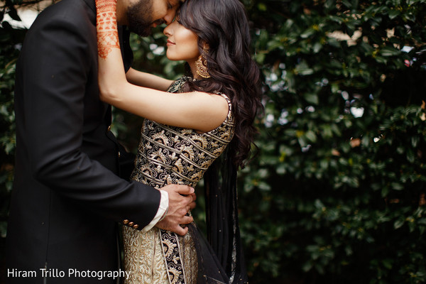 Artistic Indian pre-wedding photography.