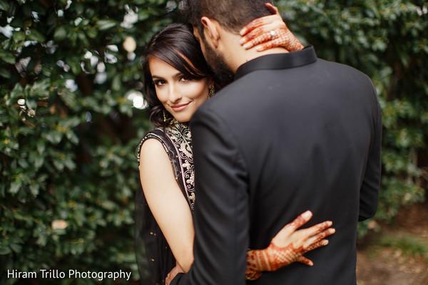Stunning Maharani and Rajah's pre-wedding photo.