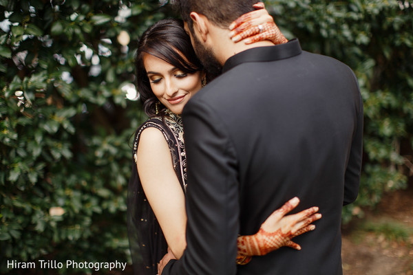 Lovely Indian bride and groom.