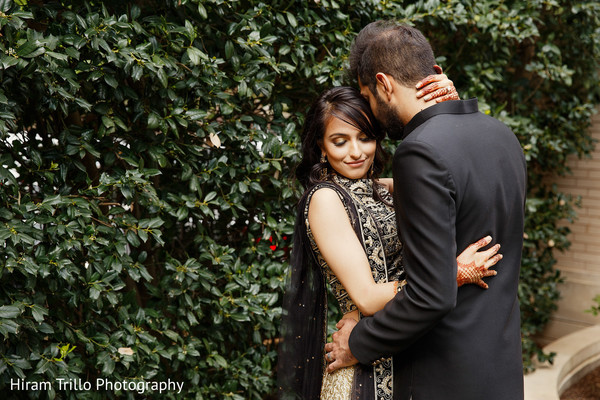 Adorable Indian bride and groom to be.