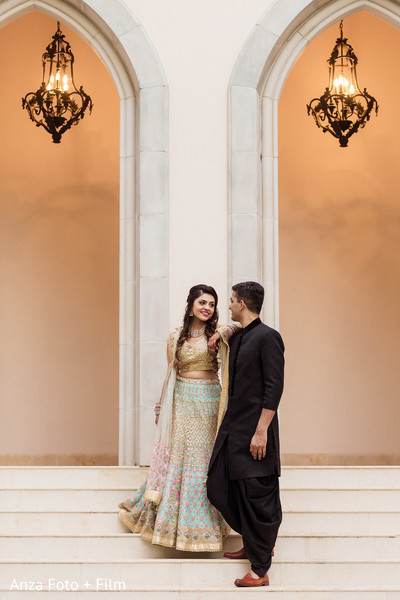 Lovely Indian pre-wedding photo shoot.