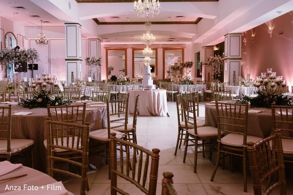 Elegant Indian Wedding decor.