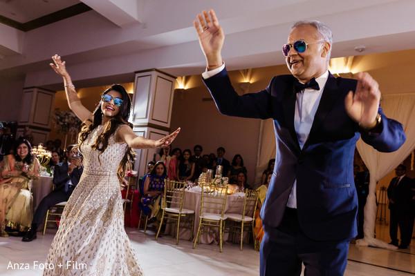 Fun Indian wedding Bollywood performances.
