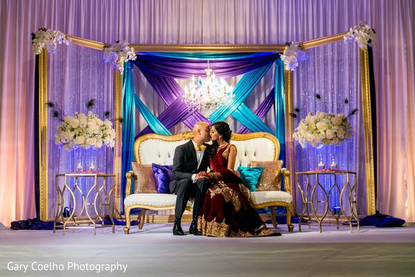 Amazingly heartfelt indian bride and groom photo session