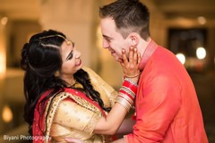 Tender Indian wedding photography.