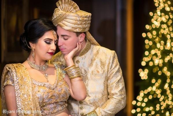 Romantic Indian  wedding photography.