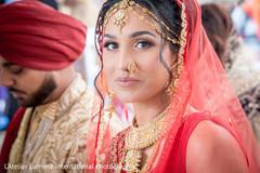 Delightful indian bride's capture