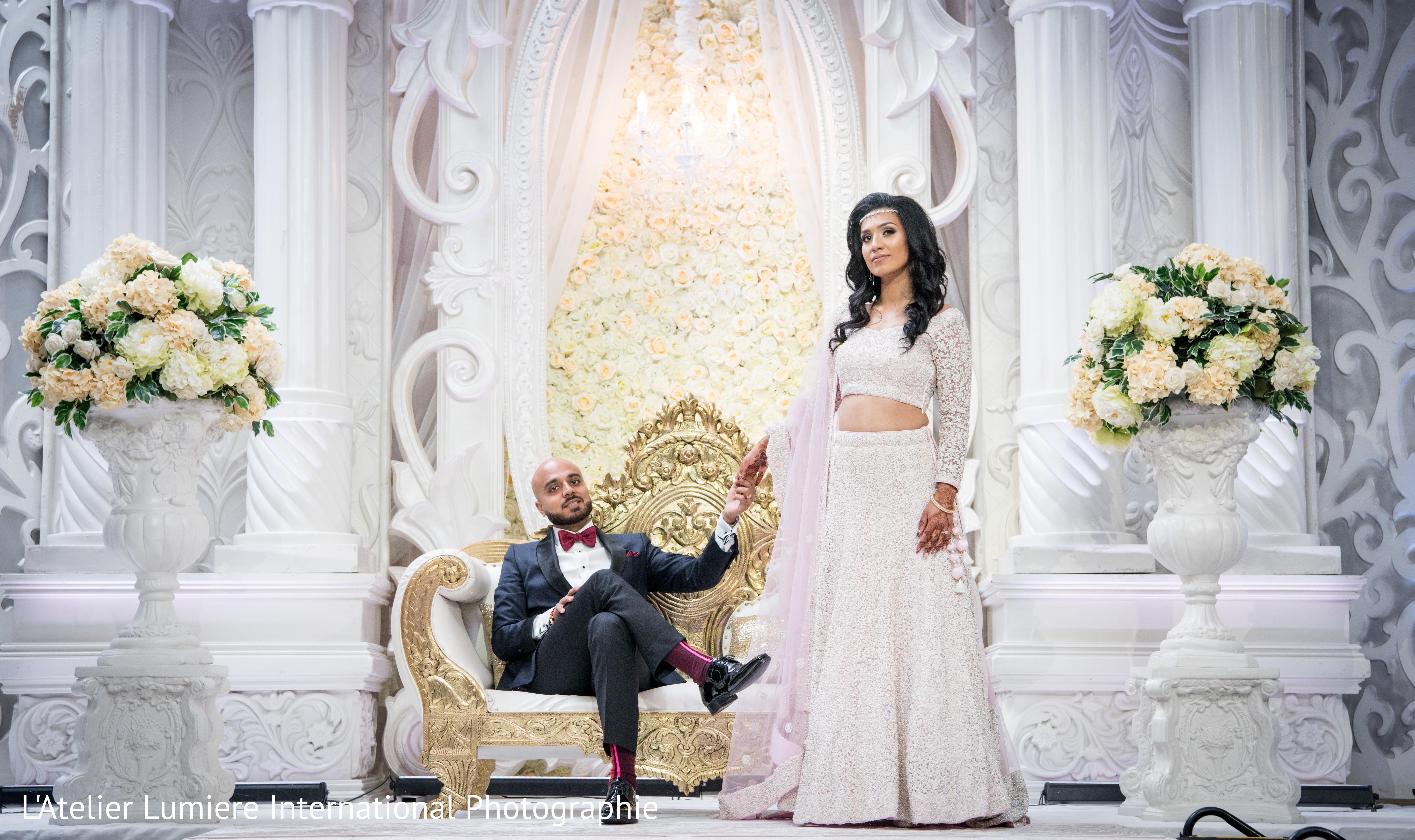 Kleinburg, Ontario Indian Wedding by L\'Atelier Lumière International ...