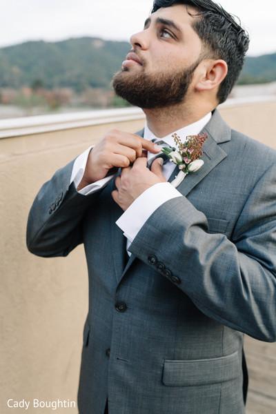 Indian groom photography