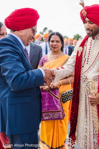 Indian groom's baraat