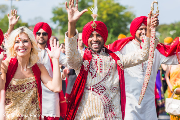 Sensational indian wedding procession