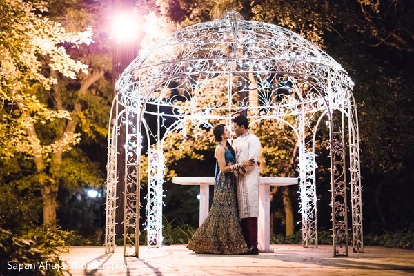 Indian bride and groom most romantic moment