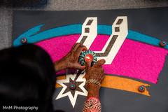Wonderful indian pre-wedding celebrations