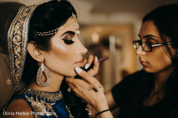 indian bride,pre-wedding fashion,hair and makeup