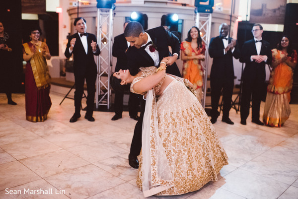Fantastic Indian bride and groom first dance.