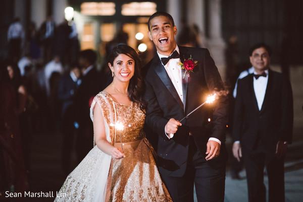 Heavenly Indian bride and groom.