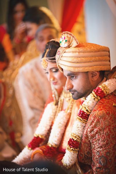 indian wedding ceremony,indian bride and groom