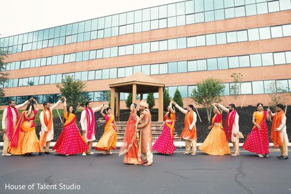 indian bridesmaids,indian groomsmen,indian wedding photography