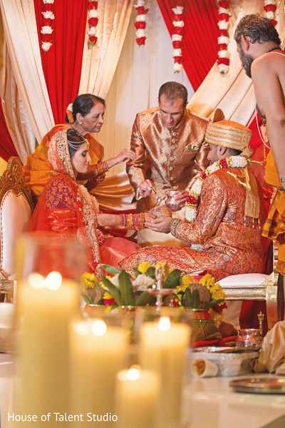india bride and groom,indian wedding ceremony,floral and decor