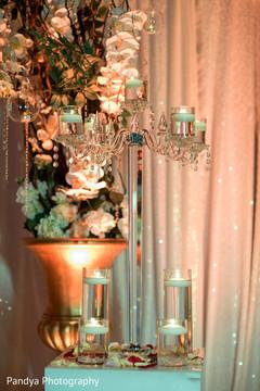 Marvelous indian wedding reception decor idea