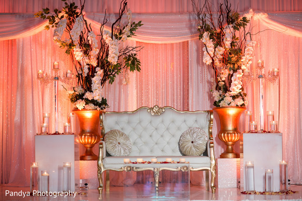 indian wedding gallery,indian wedding floral and decor,indian wedding planning and design,reception stage