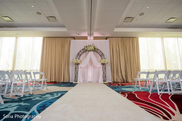 Indian wedding ceremony venue decor