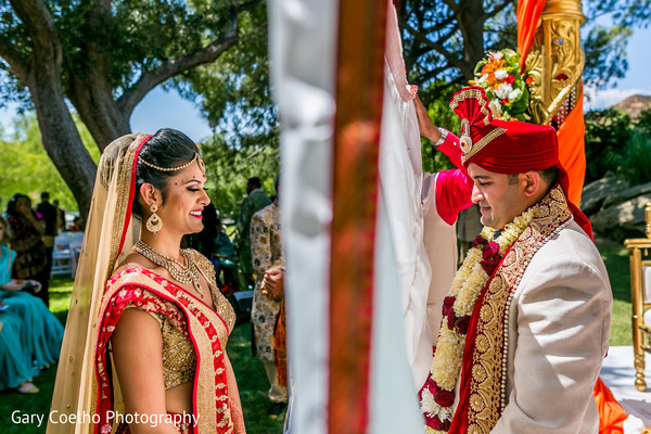 floral and decor,indian wedding ceremony,outdoor ceremony,indian bride and groom