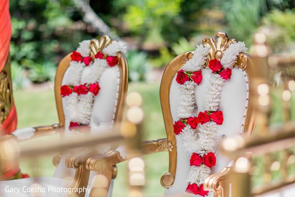Beautiful flower garlands.