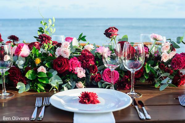 Stunning outdoor indian wedding anniversary table