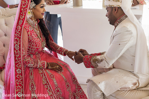 Inspiring Indian  fusion wedding.