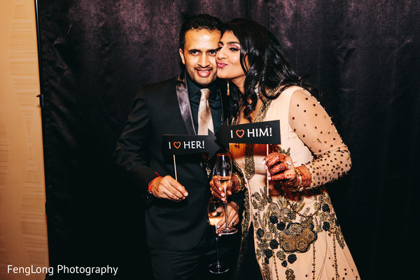 Indian wedding reception photo booth props | Photo 154366