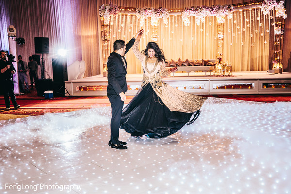 Romantic indian wedding first dance