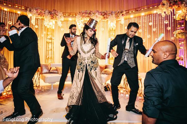 Indian couple rocking the dance floor