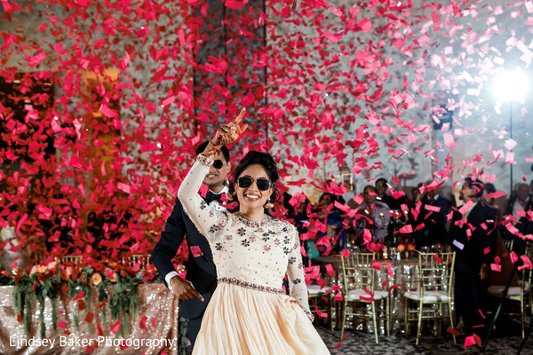 Out-of-the-box Indian Bride and Groom entry ideas.
