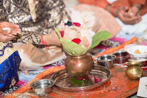 Ceremonial coconut photography