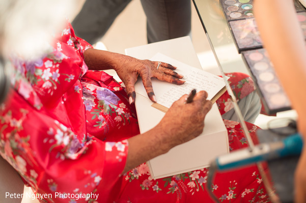 indian wedding gallery,indian bride getting ready,indian bride