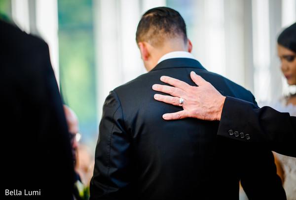 Amazingly Heartfelt Christian wedding ceremony scene.