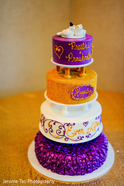 Fantastic indian wedding cake