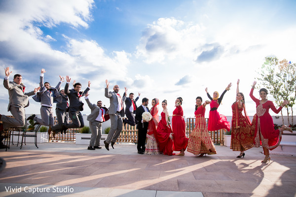 indian wedding gallery,outdoor photography,indian bride and groom,indian bridesmaids and groomsmen