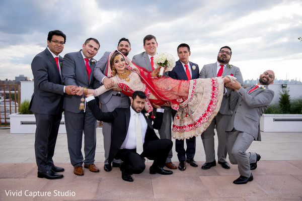 indian wedding gallery,outdoor photography,indian bride and groom,indian groomsmen