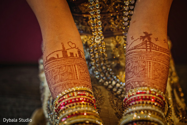 Amazing indian bridal mehndi art