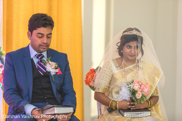 Tender Indian wedding ceremony.