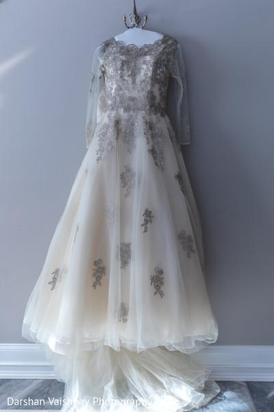 Glamorous indian bridal dress
